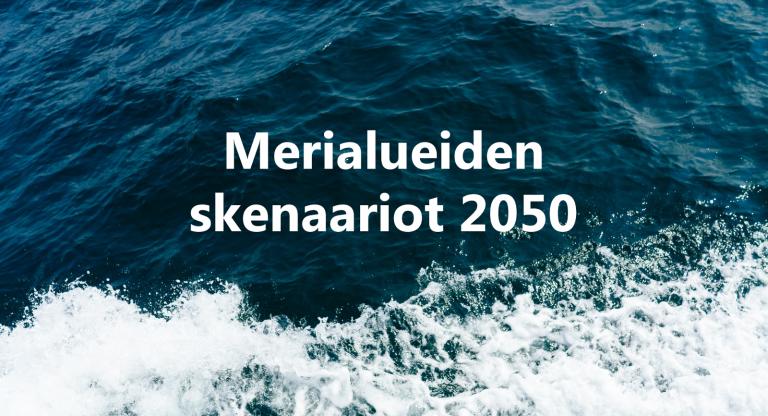 Suomen merialuesuunnitelma laadittiin skenaariolähtöisesti